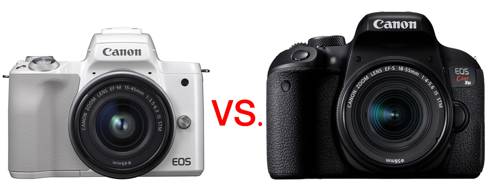 キヤノン EOS Kiss M vs EOS Kiss X9i