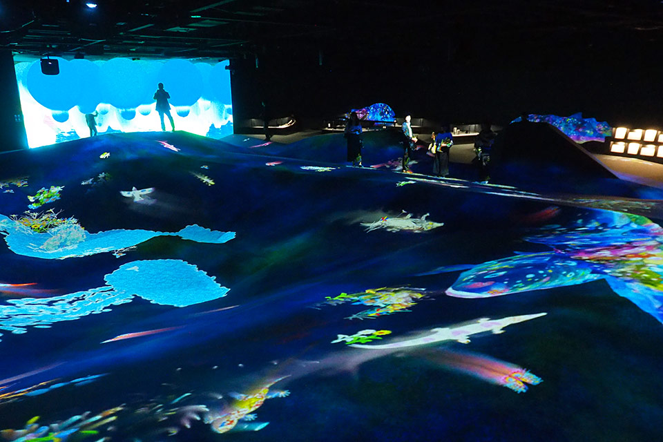 EPSON teamLab Borderless
