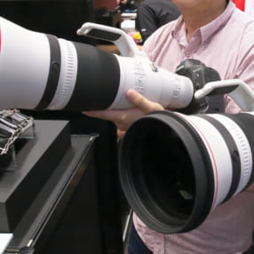 キヤノン「EF400mm F2.8L IS III USM」「EF600mm F4L IS III USM」のMF速度が高速化