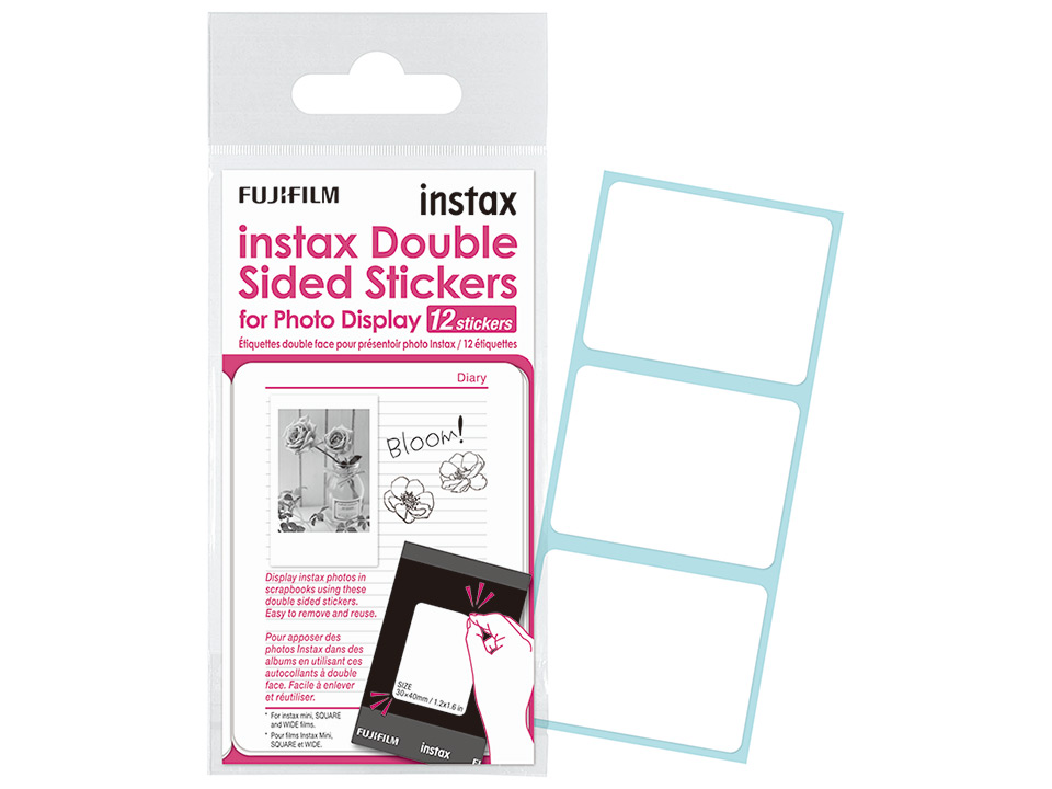 instax Double Sided Stickers