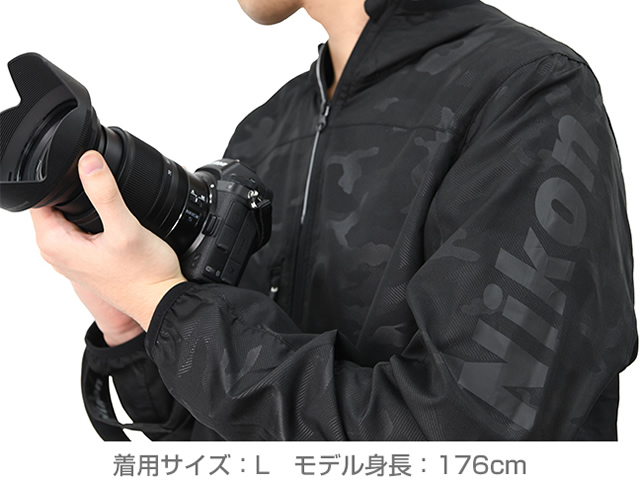 ND ニコン ウインドブレーカー
