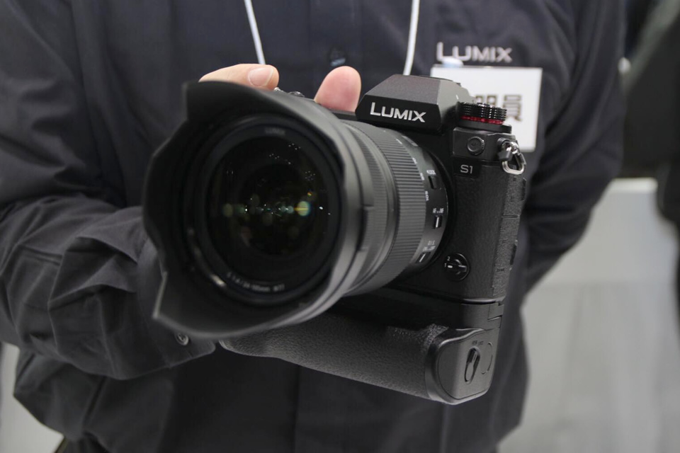 【CP+2019】パナソニックLUMIX S1R/S1