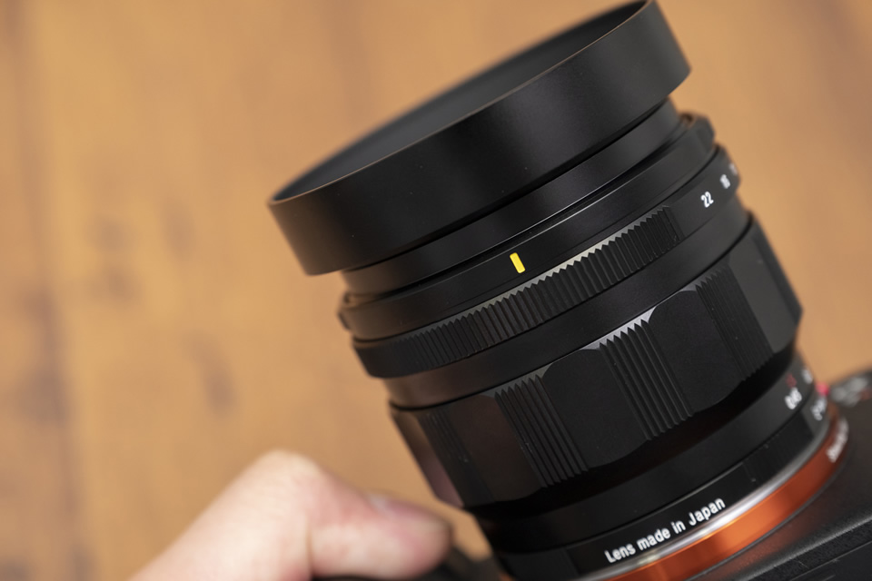 NOKTON 50mm F1.2 Aspherical E-mount