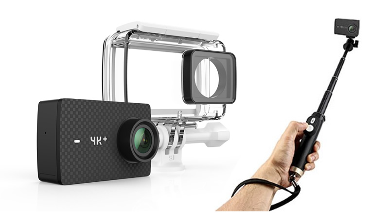 YI 4K+ ACTION CAMERA WATERPROOF CASE