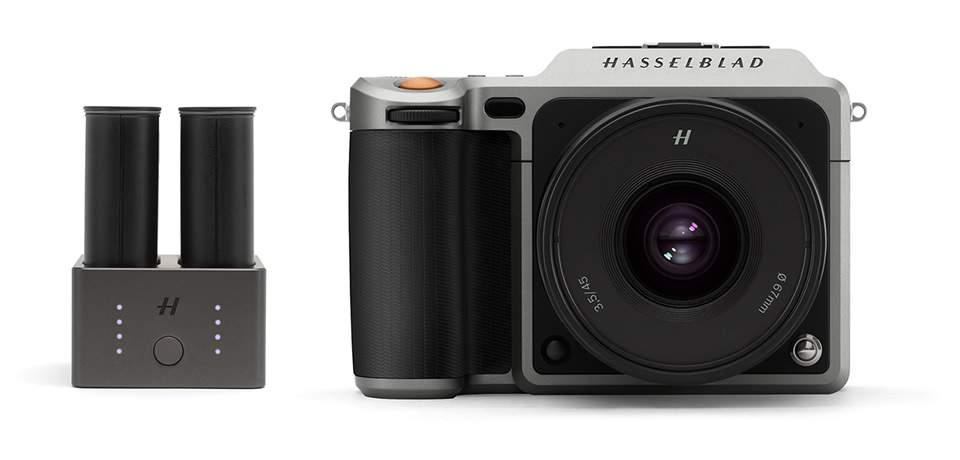 HASSELBLAD X1D用バッテリー充電ハブ