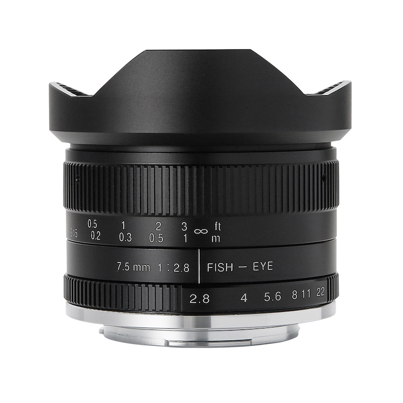 7artisans 7.5mm F2.8 Fish-eye II