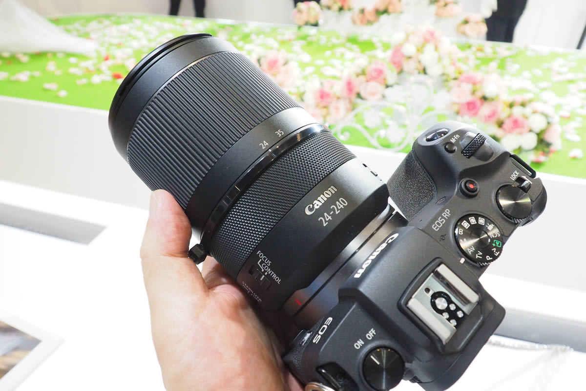 EOS RP+RF24-240mm F4-6.3 IS USM