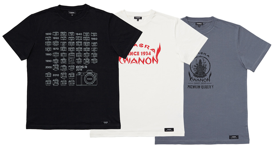 Canon Official Fan Goods Tシャツセット AP-TS302