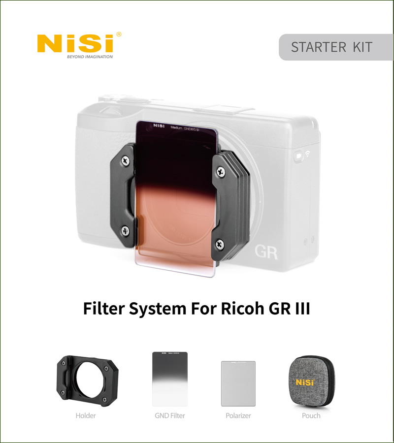 NiSi RICOH GR III フィルターキット