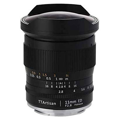 TTArtisan 11mm f/2.8 Fisheye