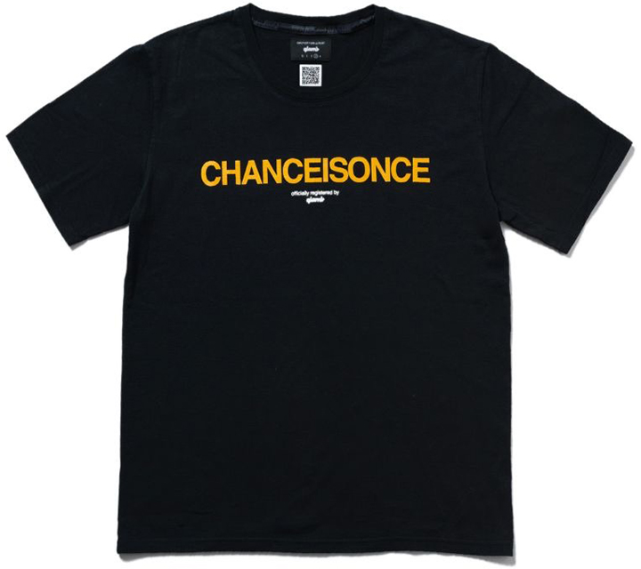 Chance is once T