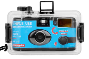 Analogue Aqua Simple Use Film Camera & Underwater Case