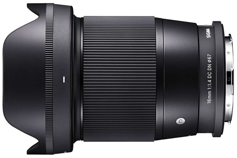 SIGMA 16mm F1.4 DC DN | Contemporary Lマウント