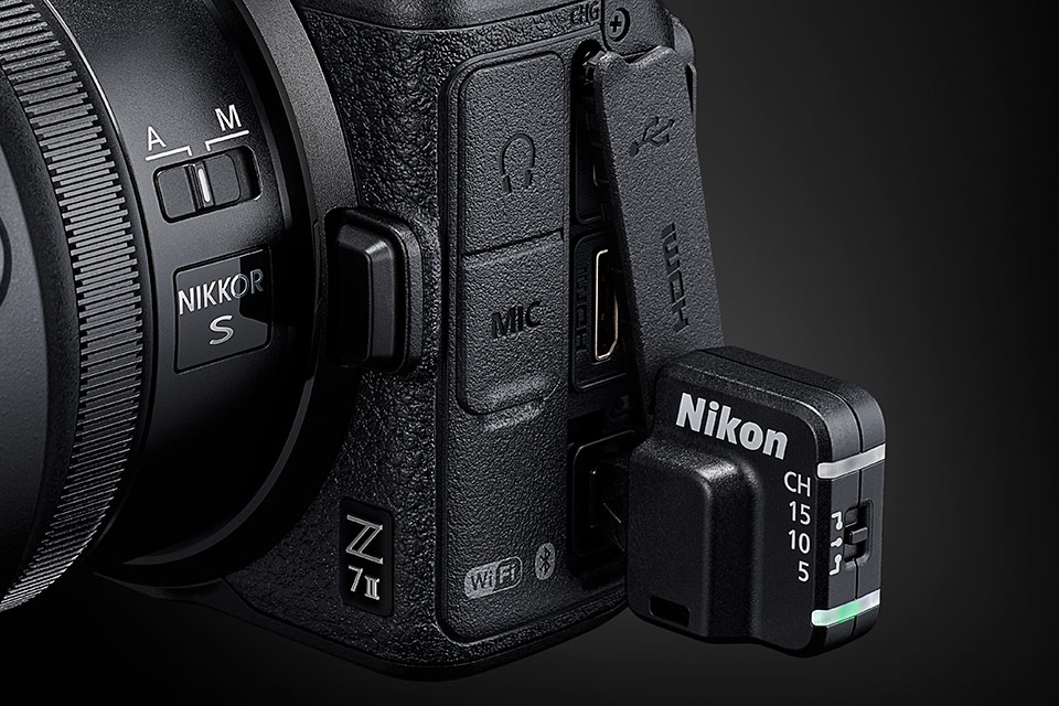 Z 7 II・ワイヤレスリモートコントローラー WR-R11a
