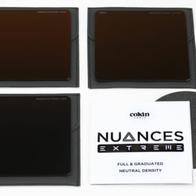 NDフィルター3種類がセットになったお買い得セット「Cokin NUANCES EXTREME NDキット」