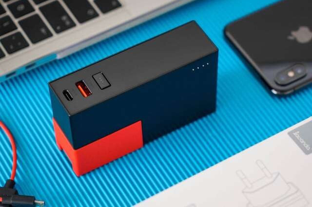 CUBE Power Bank & Charger 2 IN 1