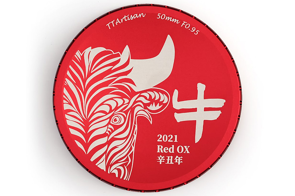 """TTArtisan 50mm f/0.95 ASPH """"Red Limited Edition"""""""