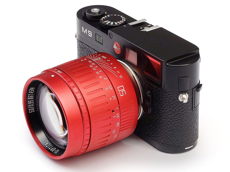 "TTArtisan 50mm f/0.95 ASPH ""Red Limited Edition"""
