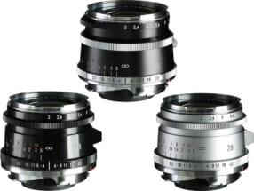 ULTRON Vintage Line 28mm F2 Aspherical VM