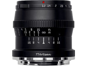TTArtisan 50mm f/1.2 C (Zマウント)