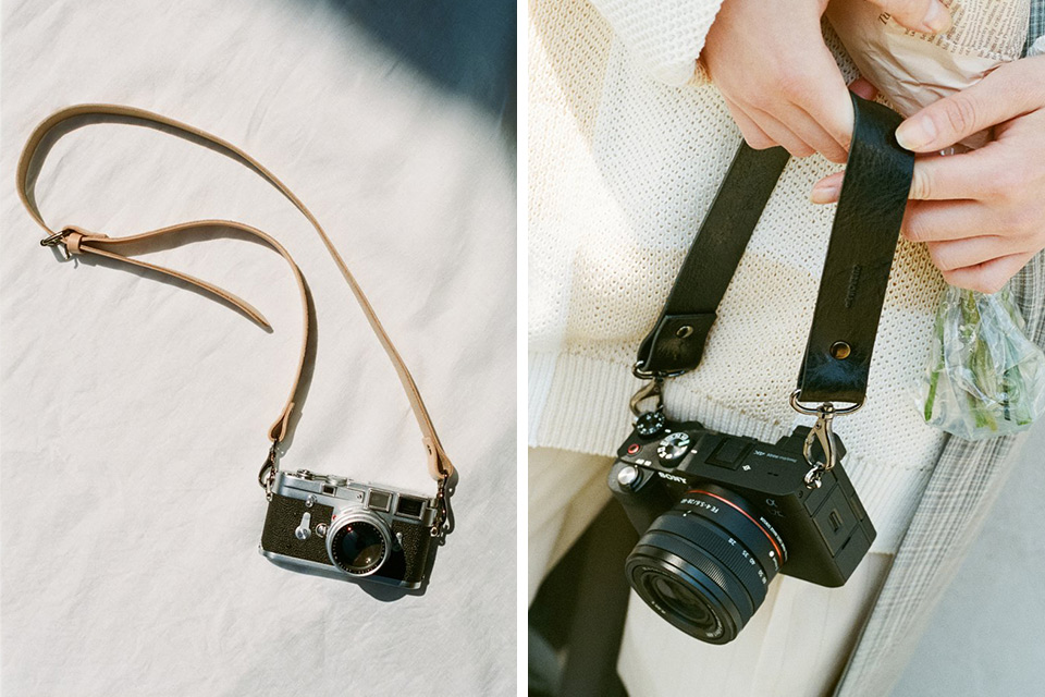 CURBON by camera strap