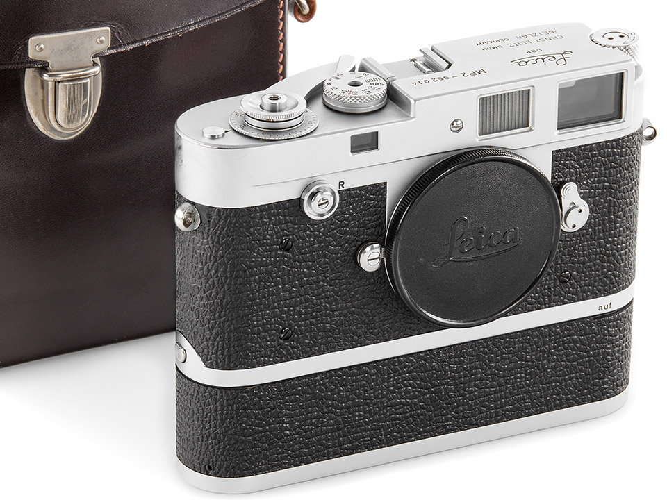 Leica MP2 Chrome with Electric Motor, serial number 952014