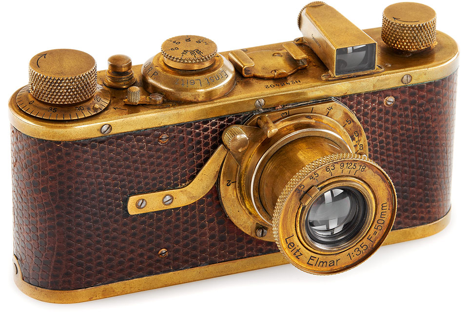 Leica I Mod. A Luxus with the serial number 48402