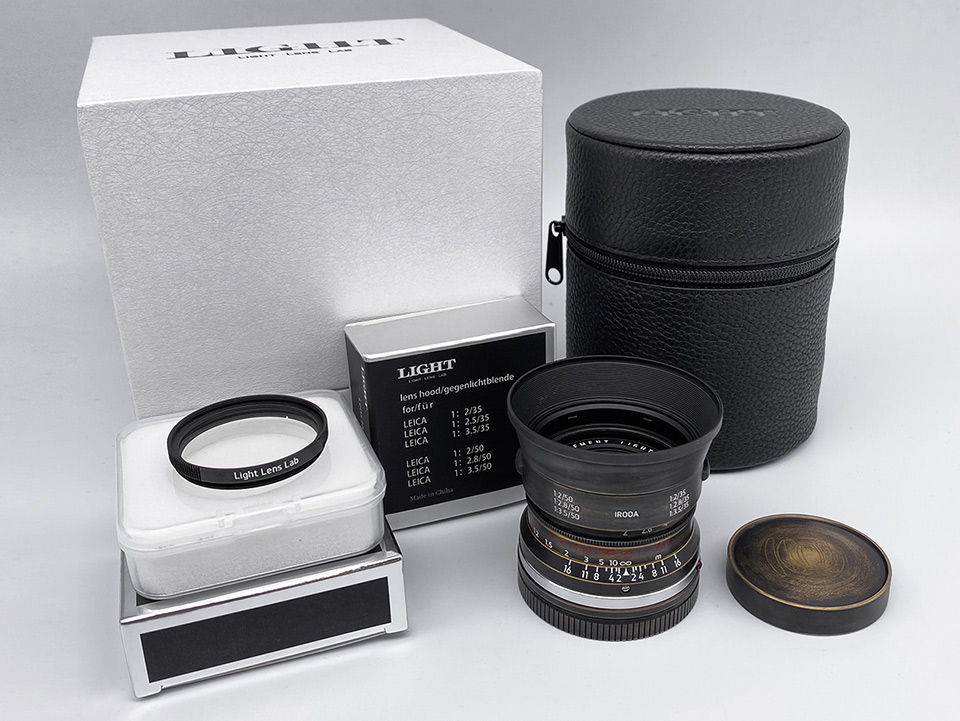 """LIGHT LENS LAB 35mm f/2 """"Classic Limited Edition""""(ライカM)"""