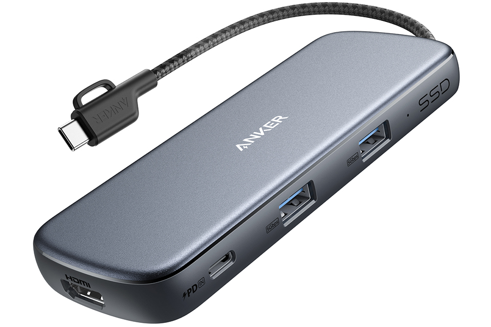 Anker PowerExpand 4-in-1 USB-C SSDハブ (256GB)